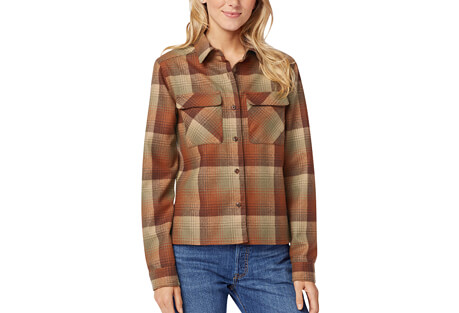 Pendleton Cropped Women's Board Shirt - Women's