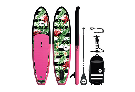 Pop Boards 10'6 Royal Hawaiian Paddleboard Package