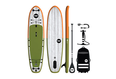 Pop Boards 11'6 El Capitan Paddleboard Package