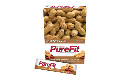PureFit Peanut Butter Crunch Bars - Box of 15