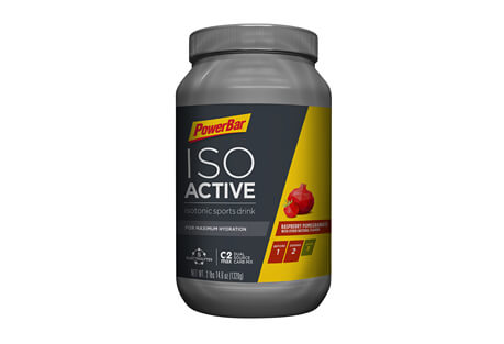 PowerBar Raspberry Pomegranate IsoActive Sports Drink Canister - 40 Servings