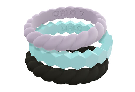 Qalo Standard Stackable Rings Collection - Women's