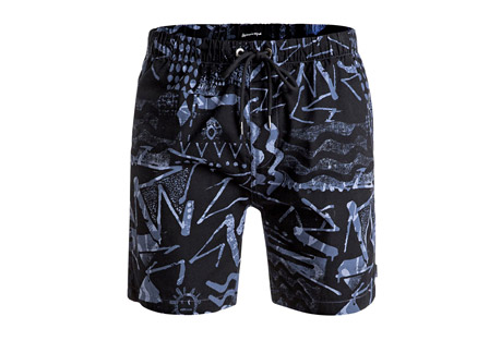 Quiksilver Labyrinth Beach Shorts - Men's