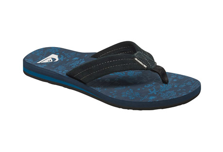 Quiksilver Carver Art Leather Sandals - Men's