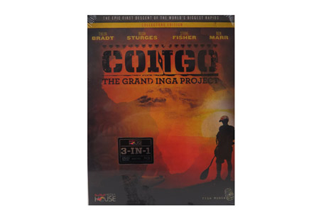 Congo: The Grand Inga Project Blu-ray + DVD