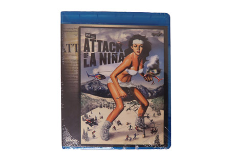 Attack of la Niña Blu-ray Disc