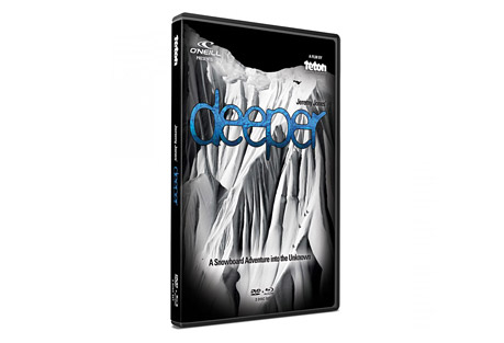 Jeremy Jones' Deeper DVD/Blu-ray Set