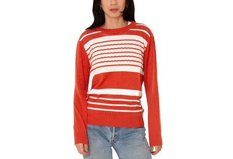 Rhythm Strokes Knit Sweater - Women's