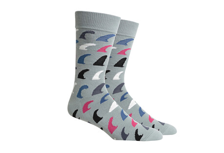 Richer Poorer Fins Socks