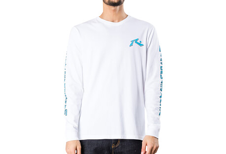 Rusty Stained Long Sleeve Tee - Men's