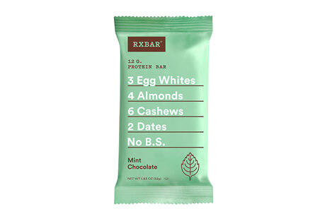 RXBAR Mint Chocolate Bar - Box of 12