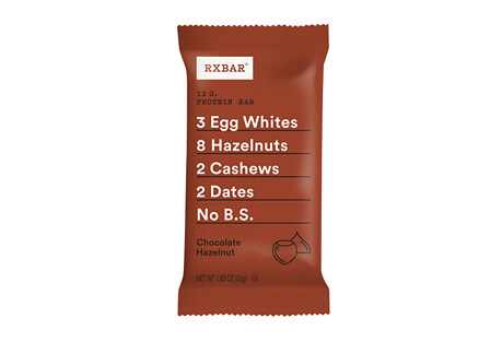 RXBAR Chocolate Hazelnut Bar - Box of 12