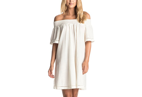 Roxy Moonlight Shadows Cold Shoulder Dress - Women's