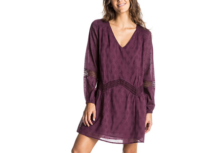 Roxy Cali Stars Long Sleeve Dress - Women's