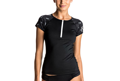 Roxy Bliss Short Sleeve Rashguard - Women's