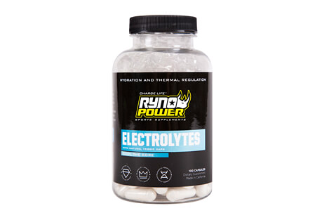 Ryno Power Electrolytes Capsules - 50 Servings