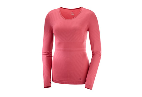 Salomon Elevate Move'On LS Solid Tee - Women's