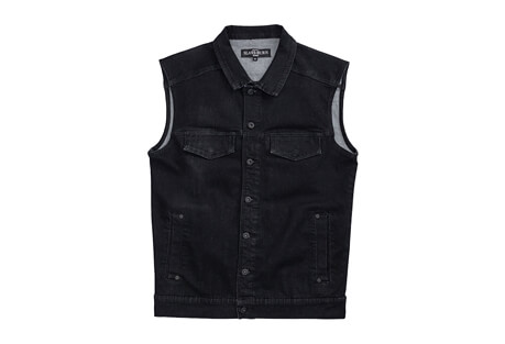 Slash and Burn Co Brea Denim Vest - Men's