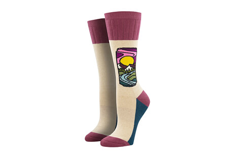 SockSmith Outlands Brew With A View Socks - Women's