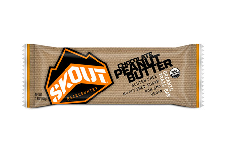 Skout Backcountry Chocolate Peanut Butter Trailbar - Box of 12