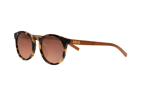Solo Eyewear Mali Polarized Bamboo Sunglasses