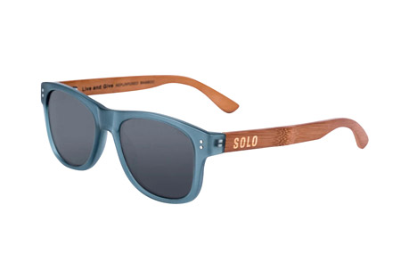 Solo Eyewear India Polarized Bamboo Sunglasses