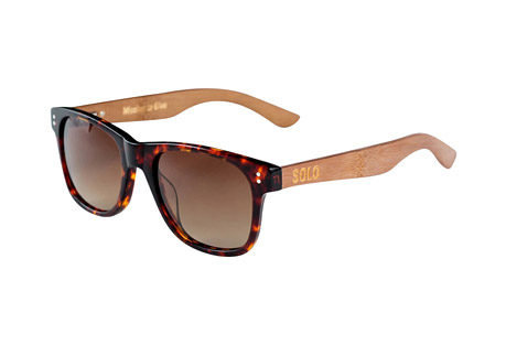Solo Eyewear Fiji Polarized Bamboo Sunglasses