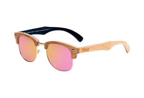 Solo Eyewear Israel Maplewood Polarized Sunglasses