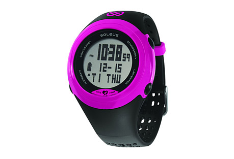 Soleus GPS Sole + HRM Watch - Women's