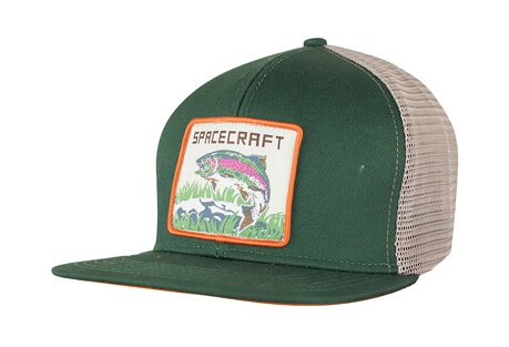 Spacecraft Wilderness Trucker Hat