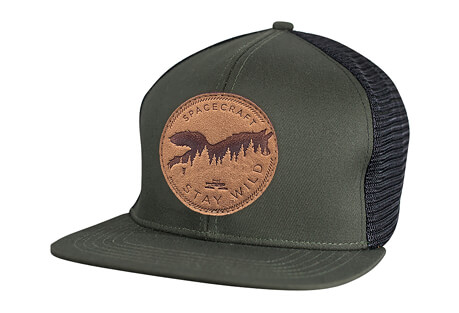 Spacecraft Wild Flat Brim Trucker