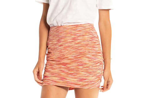Synergy Organic Apparel Space Dye Ruched Mini - Women's