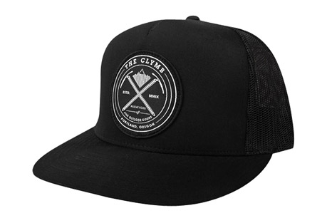 The Clymb Axes Patch Trucker Hat - Flat Bill