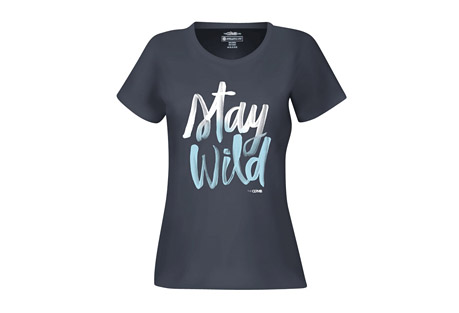 The Clymb Stay Wild Tee - Women's