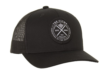 The Clymb Axes Patch Trucker Cap - Curved Bill