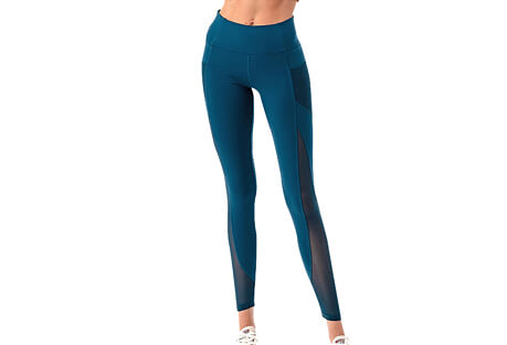 The Free Yoga High Performance Mesh Pocket Yoga Pants - Women's