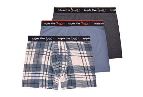Triple Five Soul Homecoming 3 Pack Underwear - Men's