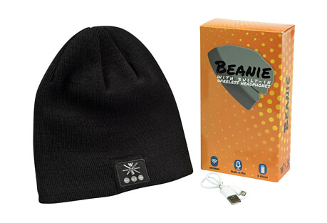Warriors & Scholars Wireless Bluetooth Beanie With Built-in Headphones
