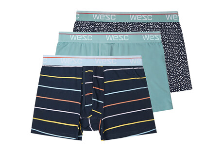 WeSC Benjamin Basic Boxer Brief 3 Pack- Men's