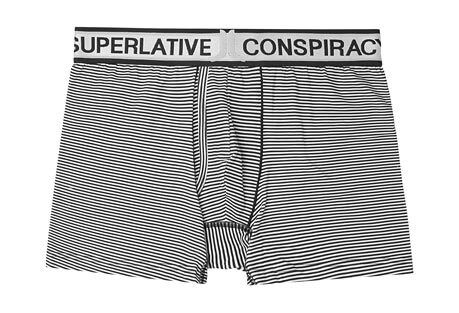 WeSC Franklin Simple Stripe Boxer Brief - Men's