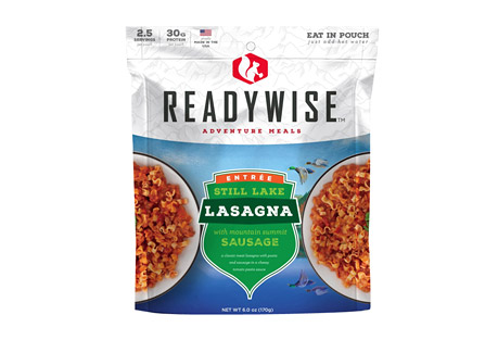 ReadyWise Still Lake Lasagna with Sausage Case of 6