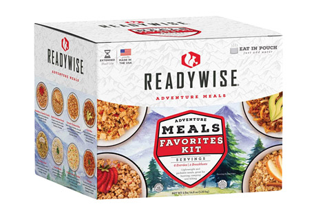 ReadyWise Adventure Meals Favorite Kit