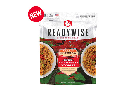ReadyWise Switchback Spicy Asian Style Noodles Case of 6