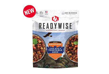 ReadyWise Basecamp Four Bean & Vegetable Soup Case of 6