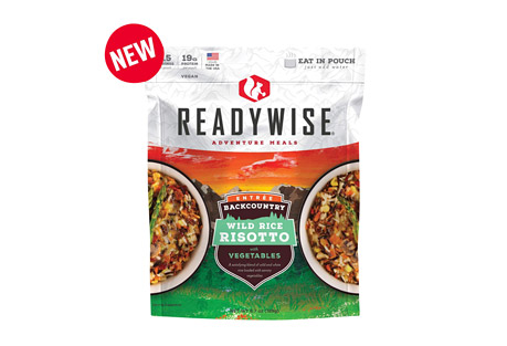 ReadyWise Backcountry Wild Rice Risotto with Vegetables Case of 6