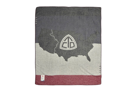 Woolrich Continental Divide Trail Blanket