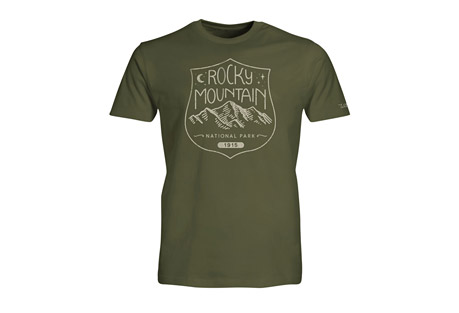 Wilder & Sons Rocky Mountain National Park Short Sleeve T-Shirt - Men's