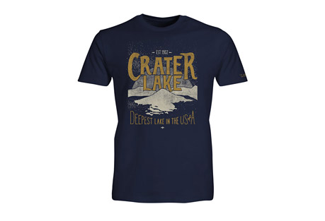 Wilder & Sons Crater Lake National Park Short Sleeve T-Shirt - Men's
