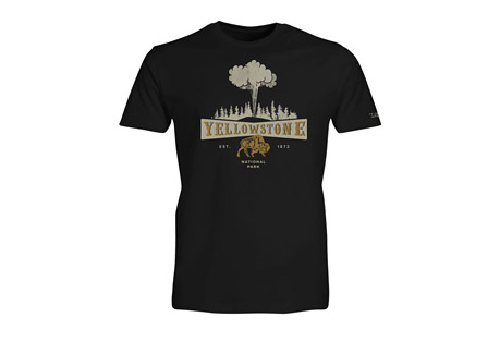 Wilder & Sons Yellowstone National Park Short Sleeve T-Shirt - Men's