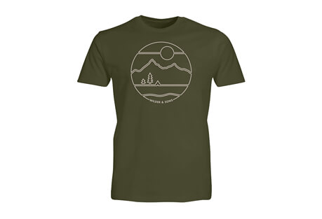 Wilder & Sons Sunrise Camp Tee - Men's